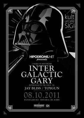 Intergalactic Gary @ 2 Years of Hipodrome, Kultur Cafe (Sibiu) 08.10.2011