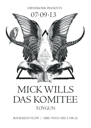Mick Wills in Hipodrom @ Bohemian Flow (Sibiu) 07.09.2013