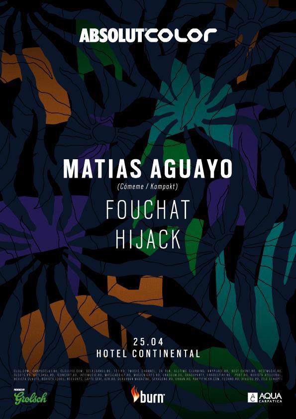 25 aprilie - Matias Aguayo Color Cluj