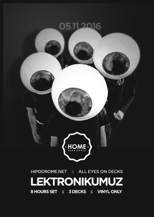 Hipodrome presents All Eyes On Decks @ Home Bar (Sibiu) 05.11.2016